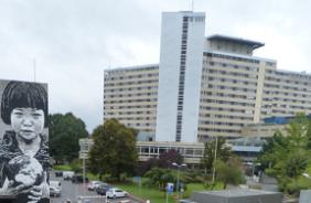 Décoration à l'hôpital Pellegrin de Bordeaux