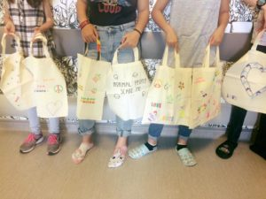 Atelier Customisation de Totes Bags au CH de Poissy