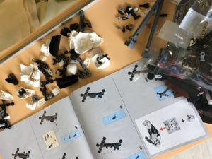 Atelier LEGO à l'hôpital Robert Debré