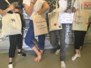 Atelier Tot-Bags au CH de Poissy
